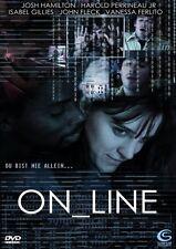 On_line (Online) (2002) Josh Hamilton internet sex/love * Region 2 (UK) DVD ~New