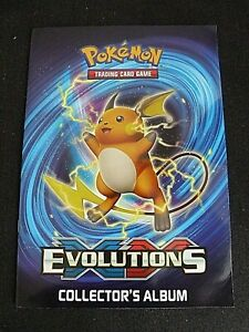 Pokémon  Evolutions Collectors Album unused