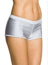 ROXY Go Shorty Shorts Bikini Bottom Size Medium Titanium NWT $48