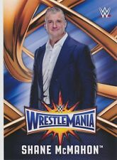 #11 SHANE McMAHON 2017 Topps WWE Road Wrestlemania ROSTER