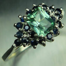Tourmaline Solitaire Engagement Fine Rings