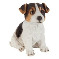 Jack Russell Terrier Puppy Partner Design Toscano Collectible Dog Statue