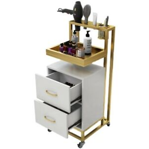 Luxury Barber Trolley Professional Hairdresser Cabinet Beauty Salon Tools Table