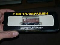 N Gauge Graham Farish 3001 Brake Van LMS Wagon boxed