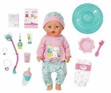 zapf BABY Born Bath Soft Touch baby Doll & Accessories bundle,nappy,potty,dummy