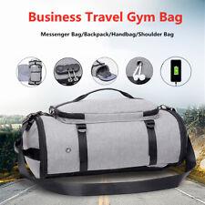 Men Travel Luggage Handbag Backpack Outdoor Sport Gym Duffel Bag Knapsack  New