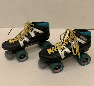 Pacer System 4000 Hydra Lites Roller Skates Hard Candy Size 9 Legends Wheels