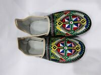Black Idoukan Morocco Berber Babouch Leather Shoes Leather Babouche Mules Womens