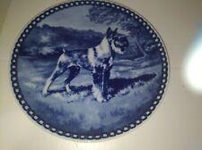 Hundeplatte Plate Denmark Standard Schnauzer Tove Svendsen