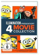 4 DVDs * ICH - EINFACH UNVERBESSERLICH 1-3 & MINIONS IN EINER BOX # NEU OVP +