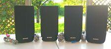 4 Speakers Sony SS-TSB121 (4 x 125w)