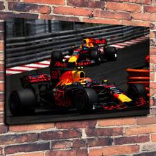 """Fórmula Uno, F1 Red Bull Racing caja impresa cuadro lienzo A1.30""""x20"""" 30mm de profundidad"""