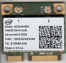 INTEL CENTRINO 622AN.HMWWB ADVANCED-N 6200 MINI-PCIE WIFI NETWORK CARD - NEW!