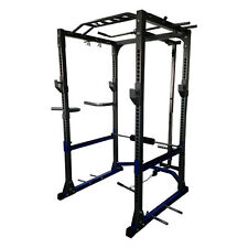 HIGHEST RATED POWER RACK WITH LAT PULLDOWN & ROW, DIP BARS, PULL / CHIN UP BAR.