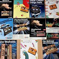 11 BASF - Werbung - Seiten ! 80er Jahre Sammlung collection Advertising Anzeige