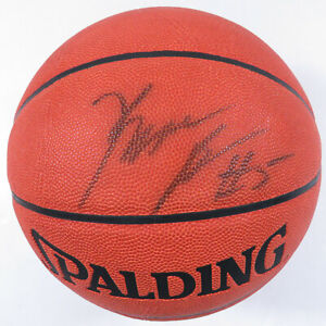 Kwame Brown Wizards Lakers Autographed Signed Official Spalding NBA Basketball