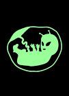 Glow Green Alien Fetus baby Digital Art NFT Card created by ELY M. elymbmx