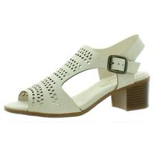 Easy Street Para Mujer Vestido claridad Imitación De Cuero Charol Sandalias Zapatos BHFO 7986