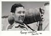 WWII WW2 BoB RAF Ace Battle of Britain WESTLAKE DFC hand signed photo barrel