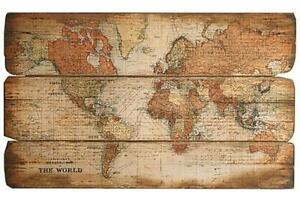 Bild Weltkarte 73/120 cm by ARBD