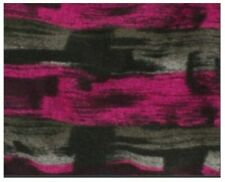 Felted Magenta, Gray, and Black Knit - Wonderful for Sweater Coats and Dusters!