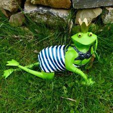 Gartenfiguren & -skulpturen aus Metall mit Frosch