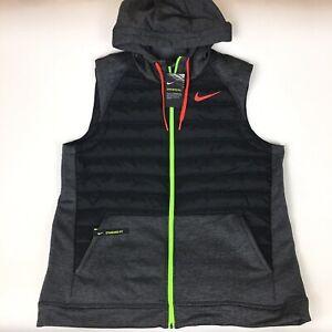 Nike Therma Winterized Full Zip Training Vest Hoodie Men's Size 2XL BV4534-032