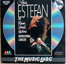 GLORIA ESTEFAN & Miami Sound Machine Laserdisc Live Homecoming Concert LD
