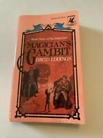 1983 Magician's Gambit by David Eddings Del Rey Paperback
