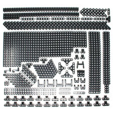 Lego 296x Genuine Technic Black Studless Beams Liftarms Straight Angular - NEW