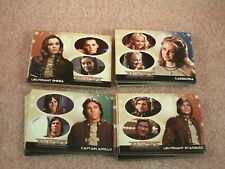 Battlestar Galactica Colonial Warriors Complete Trading Card Set