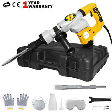 1300w Electric Demolition Jackhammer Jack Hammer Concrete Drill Breaker Kit