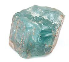 Edelsteine Rohsteine Natur Aquamarin Blau Rough Gemstone Aquamarine Mineral 119g