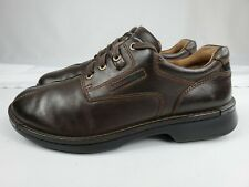 ECCO Light Mens Lace Up Casual Shoes Size 9 - 9.5 US 42 EU Brown Shock Point