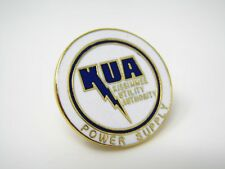 Vintage Collectible Pin: KUA Kissimmee Utility Authority Power Supply