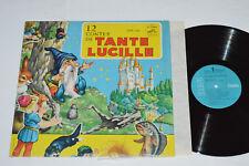 TANTE LUCILLE 12 Contes de LP RCA Gala Canada CGP-150 VG+/NM Mono Quebec Kids