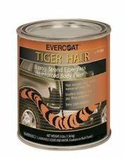 Tiger Hair Long Strand Body Reinforced Fiberglass Filler Evercoat 1 Quart 1189