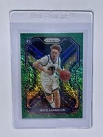 2020-2021 Panini Prizm Nico Mannion 5/5 Rookie Green Shimmer RC Warriors