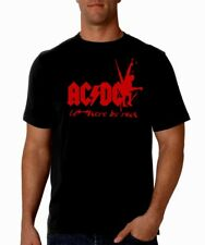 Camiseta hombre AC/DC let there be rock men T shirt hard rock heavy acdc