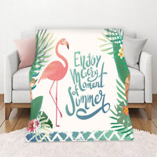 Flamingo Soft Blanket Bedding Blanket Multi-Purpose Air Conditioning Nap Blanket