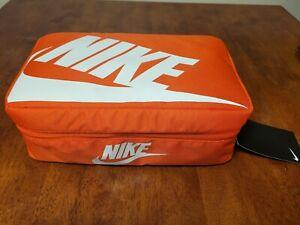 Nike Air Shoe Box Bag Travel Bag Lunch Box Orange