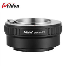 Weidon EXA-NEX Adapter for Exakta Lens to Sony NEX-F3 5R A6000 A7RIII A6300 A9