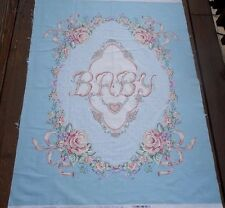 Fabric Panel VICTORIAN DREAM BABY Daisy Kingdom Shabby Pink Rose Chic Quilt