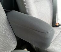 BLACK PREMIUM FABRIC SEAT ARMREST COVER FOR RENAULT TRAFIC MASTER VAN