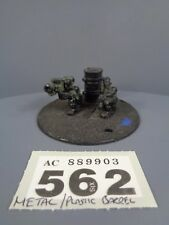 Warhammer 40,000 Astra Militarum Imperial Metal OOP Catachan Missile Team 562