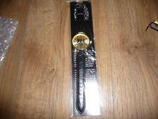 """Windsor Mint (Eiger) Windsor """"Royal"""" Watch / Gold Colour & Dark Brown Strap"""