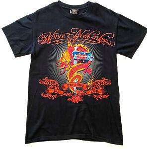 Vince Neil Ink - Las Vegas Official Shirt Motley Crue Tattoo Size S
