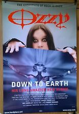 Ozzy Osbourne Down to Earth 2001  Original Promo Poster 76cm x 51cm