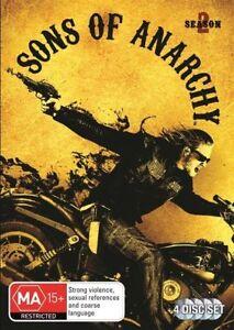 Sons Of Anarchy : Season 2 DVD 4 Disc Set Region 4