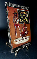SLAVES OF THE EMPIRE AARON TRAVIS (STEVEN SAYLOR) RARE SIGNED 1ST EDITION ILLUS